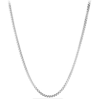 David Yurman Large Box Chain Necklace