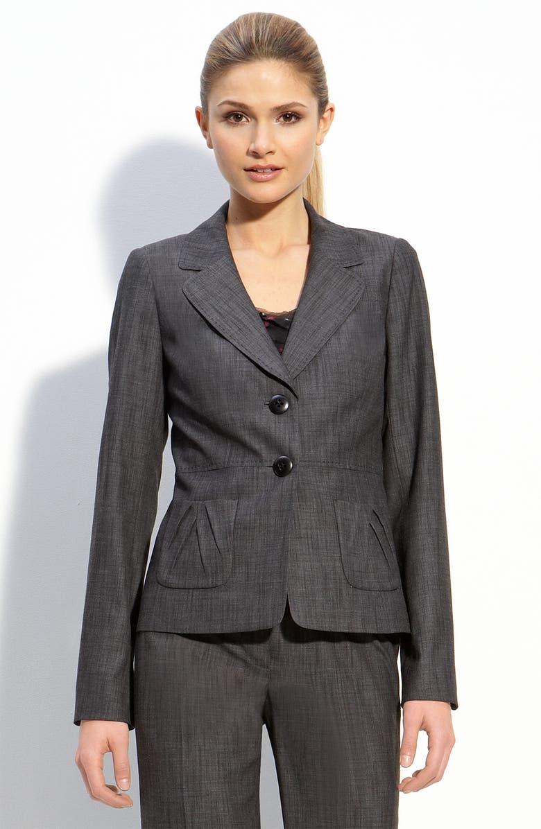CLASSIQUES ENTIER<SUP>®</SUP> 'Marcasite' Mélange Jacket, Main, color, 001