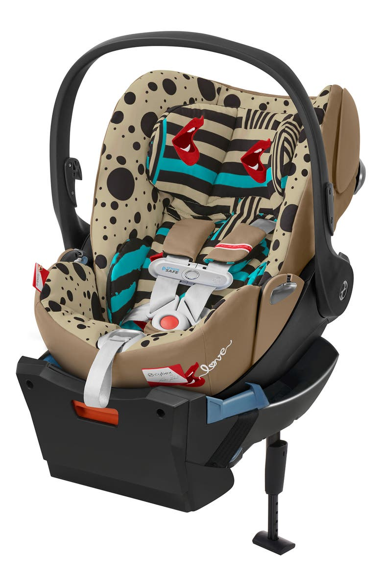 CYBEX x Karolina Kurkova Cloud Q Infant Car Seat & Base, Main, color, MULTICOLOR