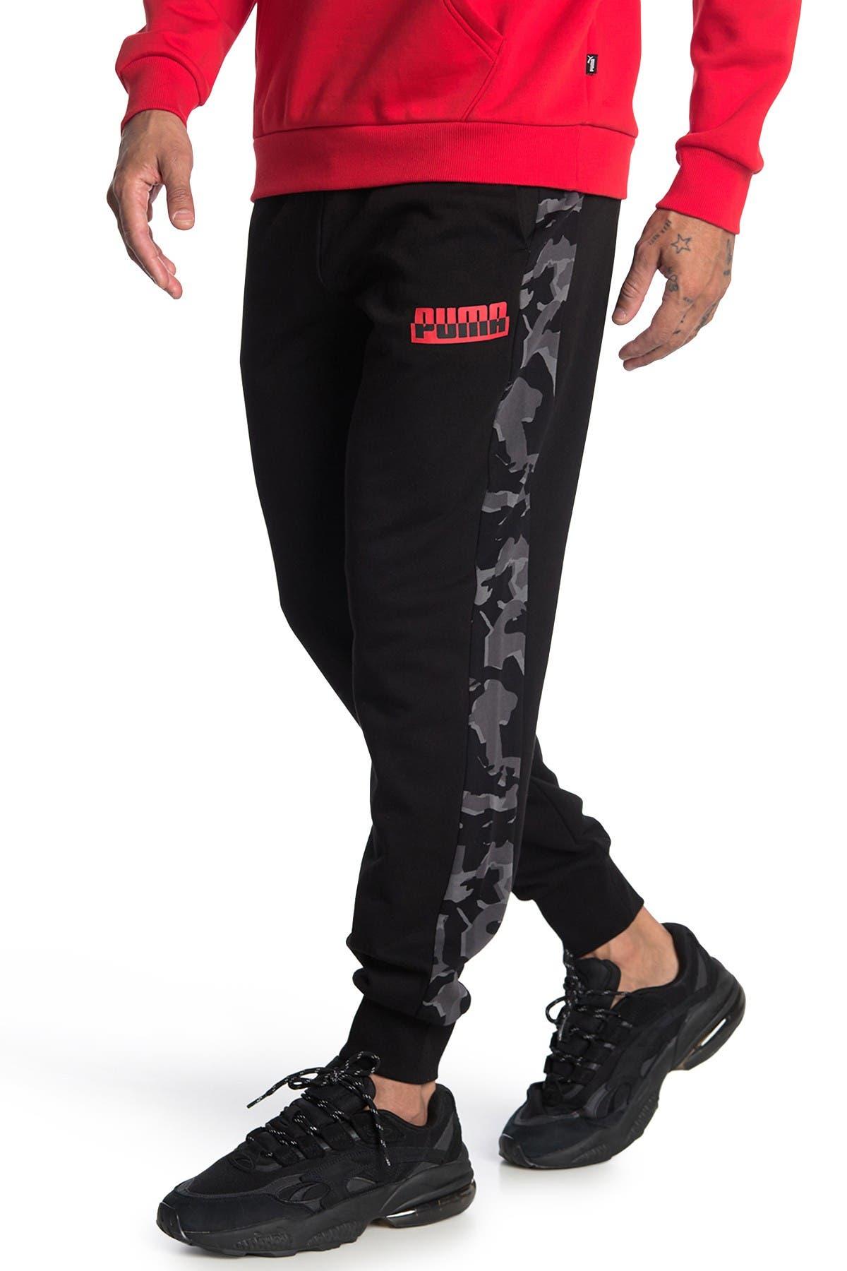 Image of PUMA Core Camo AOP Sweatpants