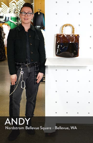 Mercy Top Handle Tote Bag, sales video thumbnail