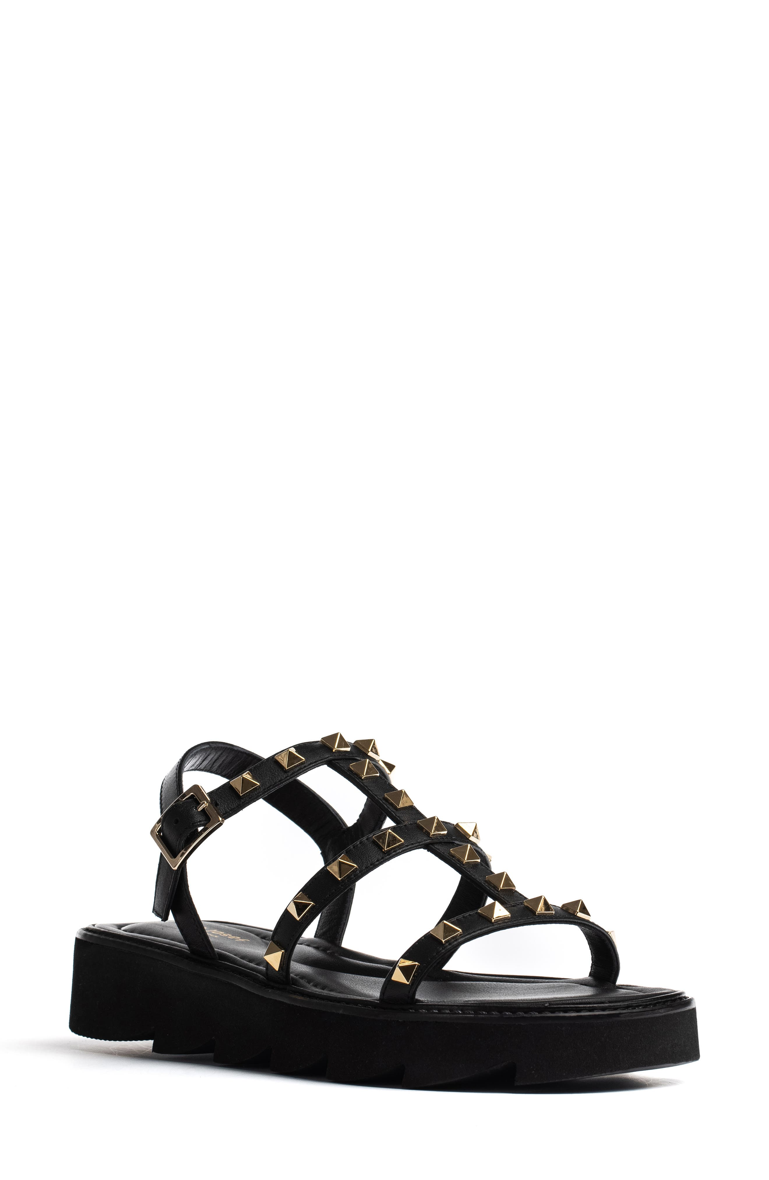 Alcon Studded Strappy Sandal