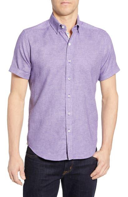 Robert Graham T-shirts LIAM TAILORED FIT SPORT SHIRT