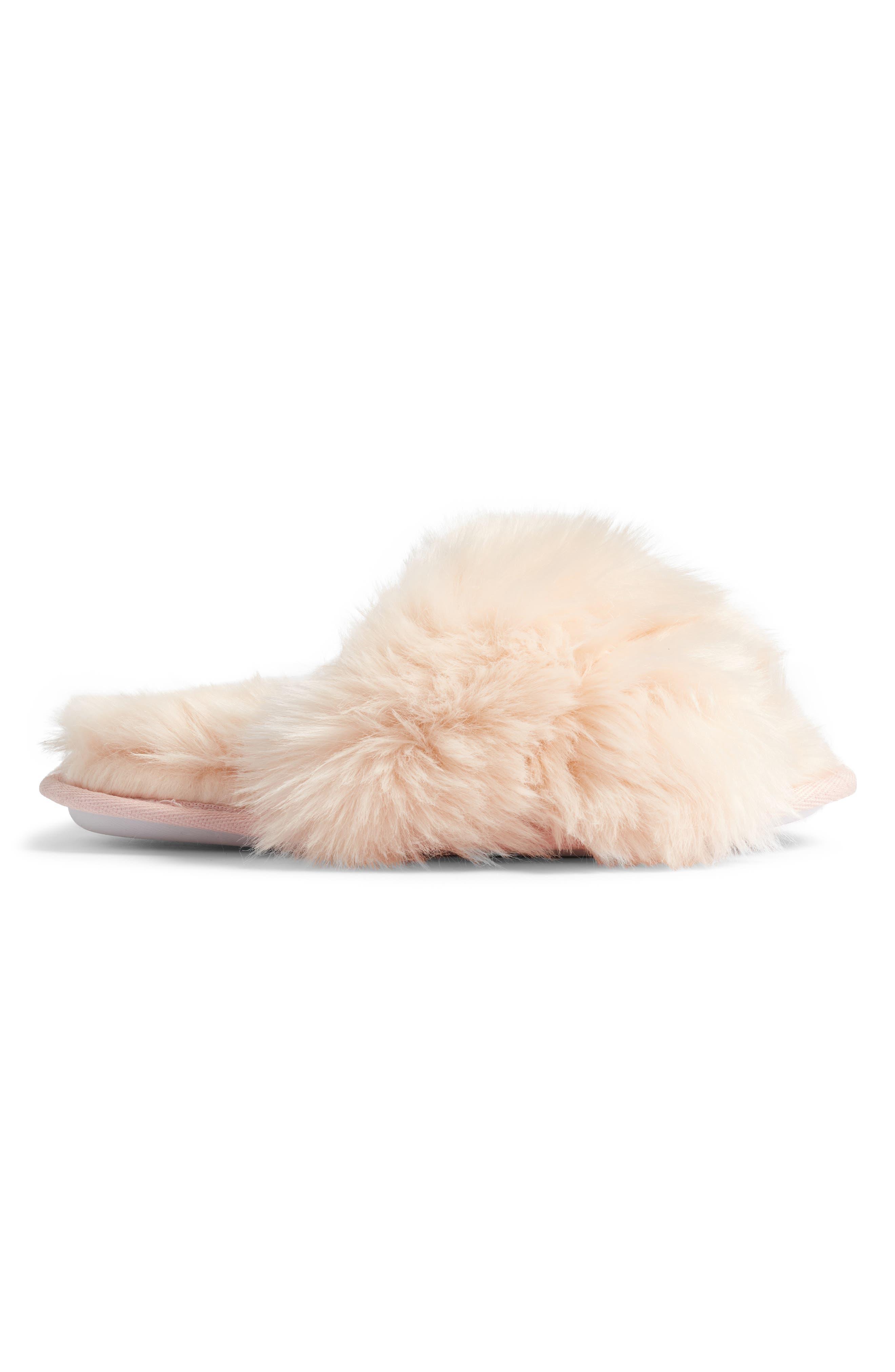 ,                             Cuddle Plush Faux Fur Scuff Slipper,                             Alternate thumbnail 17, color,                             650