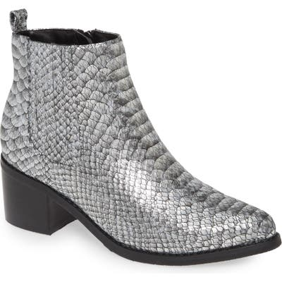 Blondo Elvina Waterproof Bootie- Metallic
