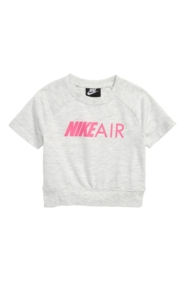 NIKE Air Crew Crop Tee, Main, color, 022