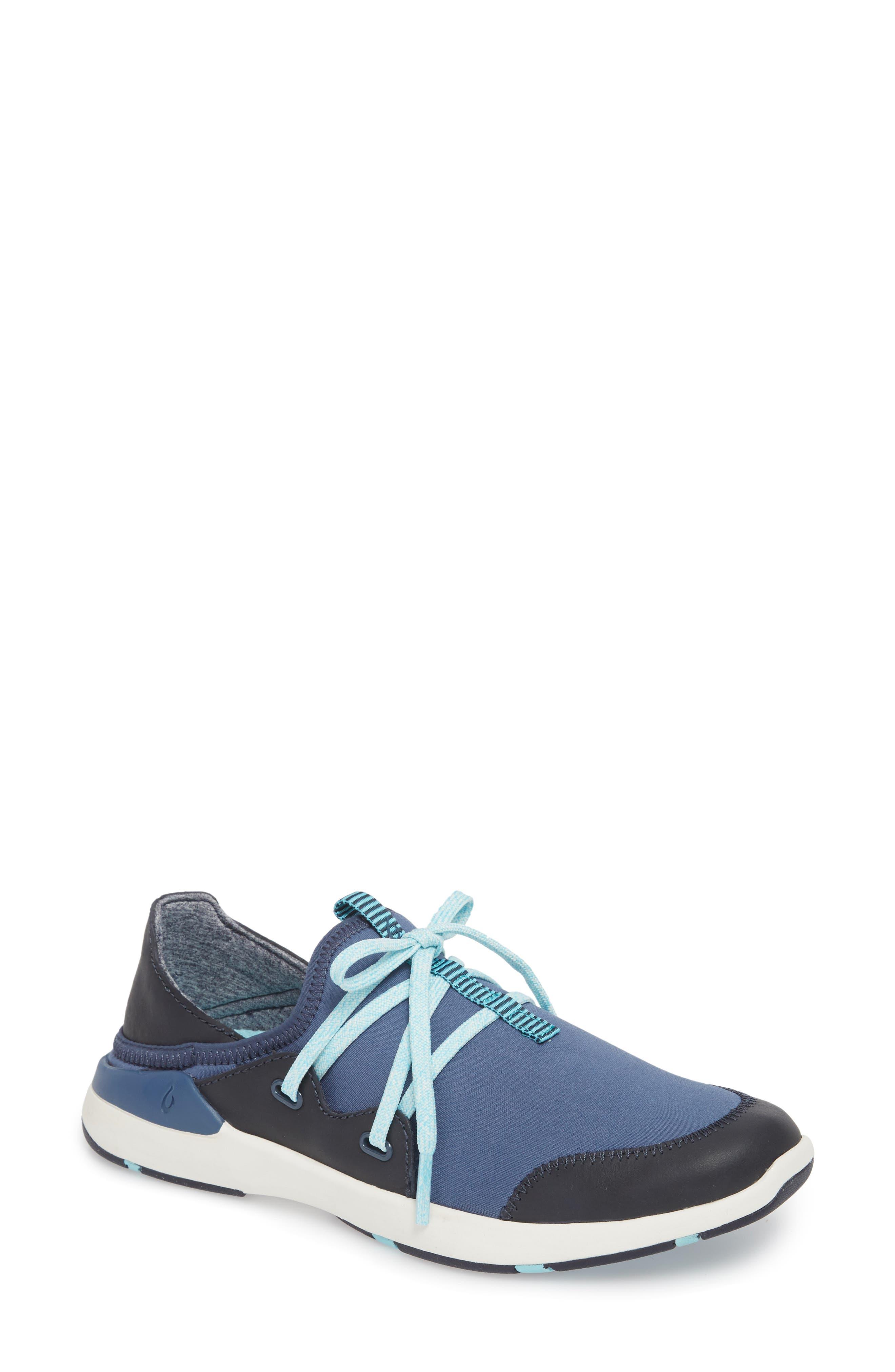Olukai Miki Li Convertible Sneaker- Blue