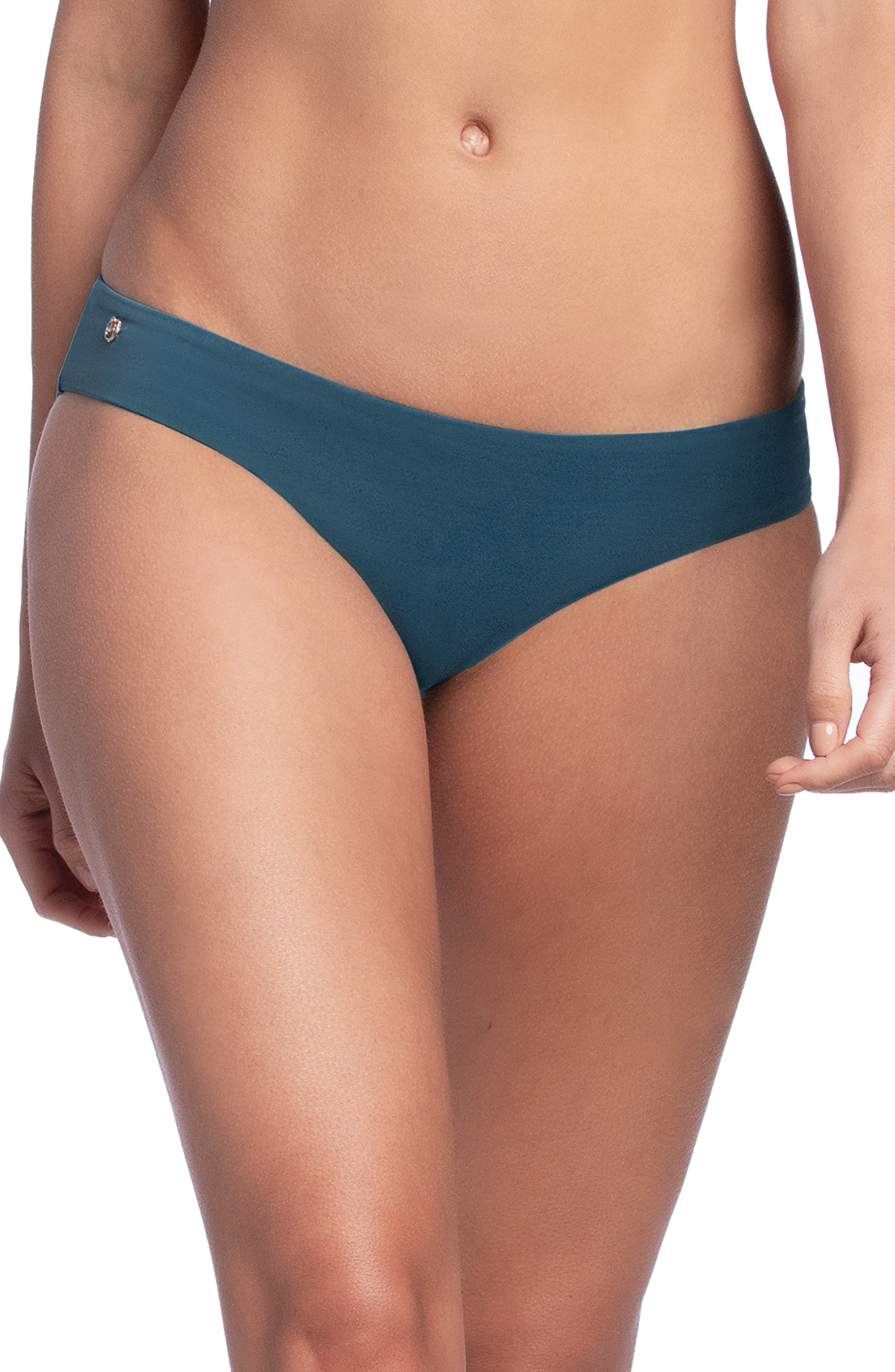 Maaji Sublime Signature Cut Reversible Bikini Bottoms, Blue/green