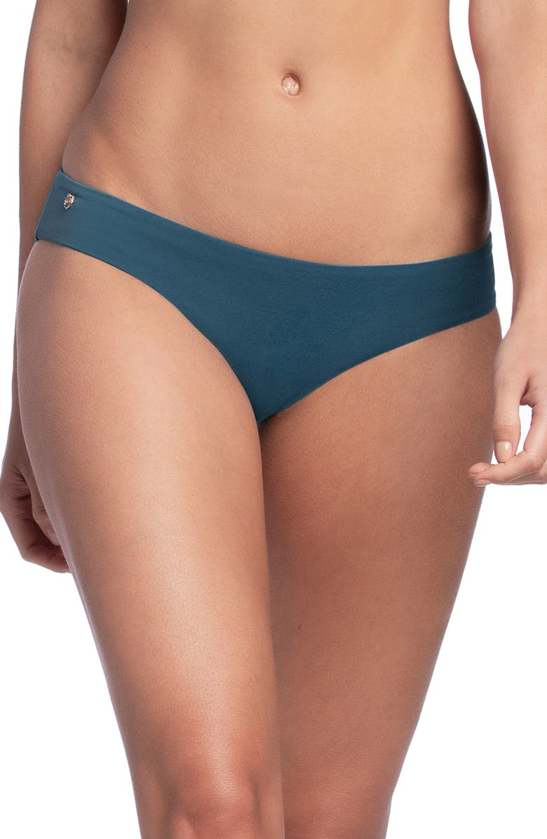 MAAJI Sublime Signature Cut Reversible Bikini Bottoms, Main, color, GREENSTONE