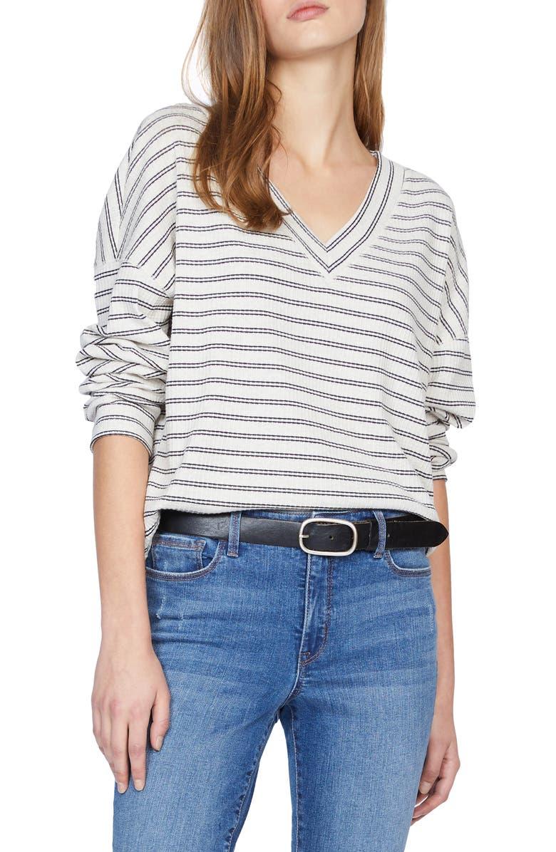 SANCTUARY Eryka Stripe Top, Main, color, 001