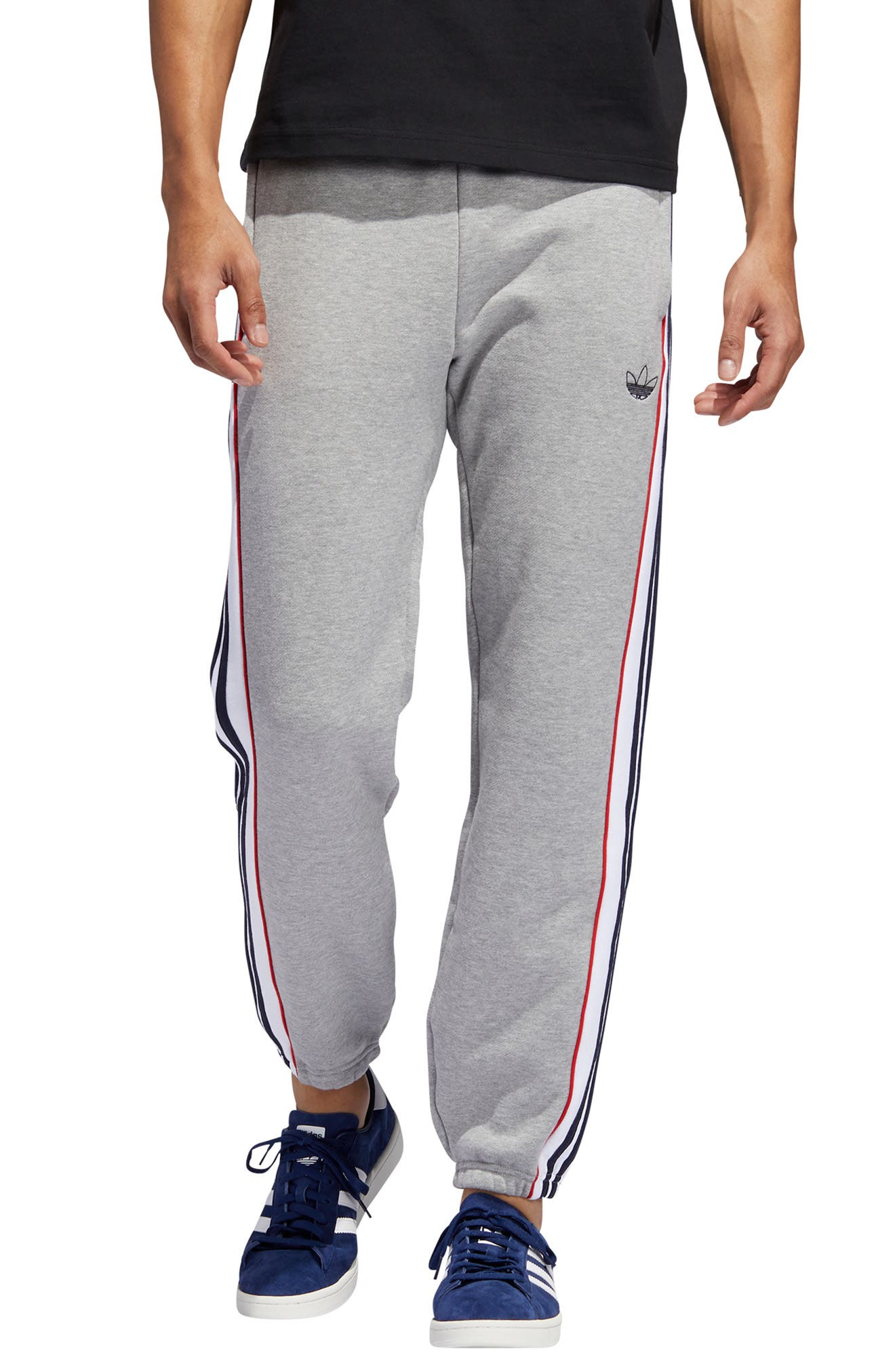 Men's Adidas Originals 3-Stripes Panel Sweatpants