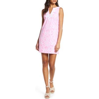 Lilly Pulitzer Harper Stretch Cotton Shift Dress, Pink