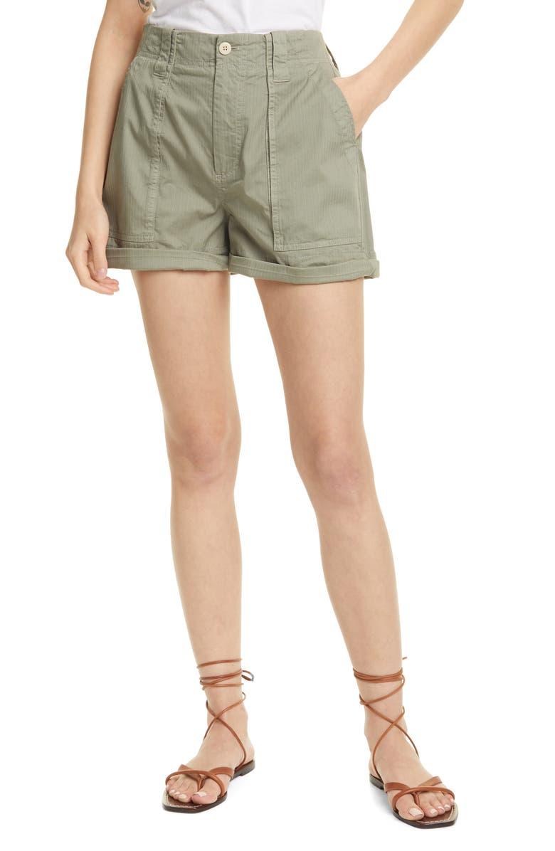 LA VIE REBECCA TAYLOR Herringbone Shorts, Main, color, 302