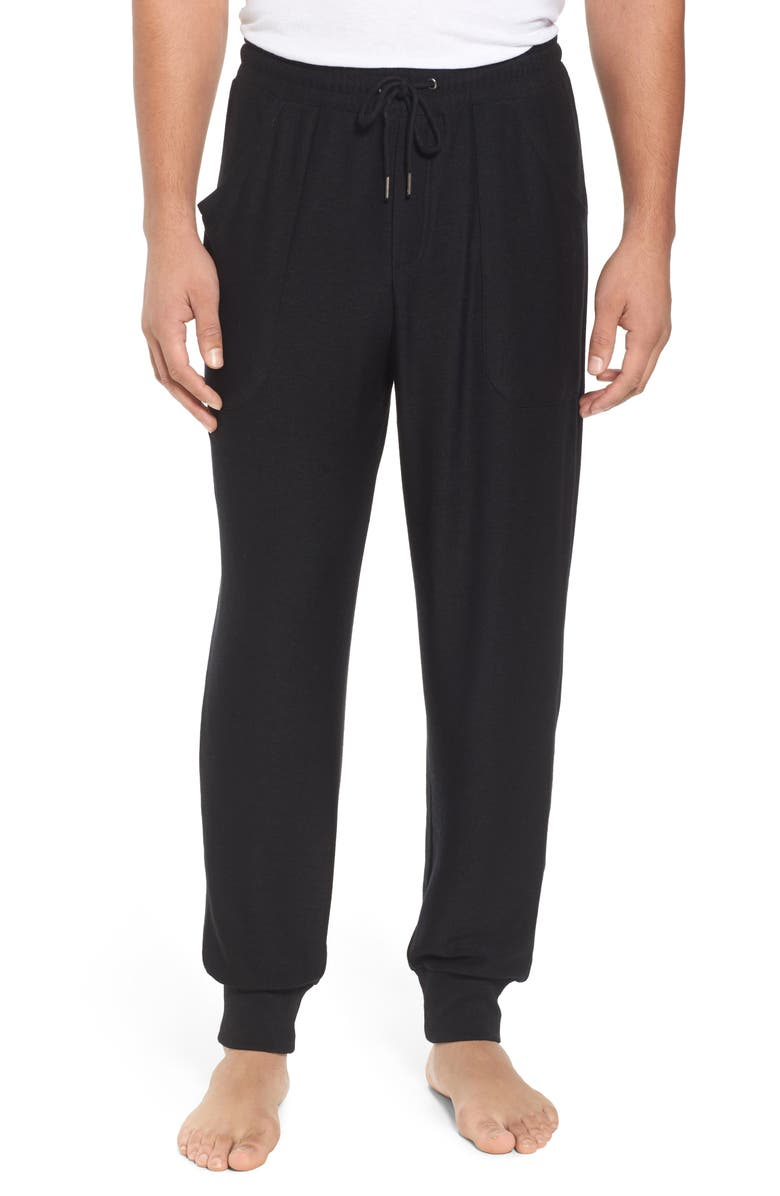 NORDSTROM MEN'S SHOP Ultra Soft Jogger Pants, Main, color, BLACK