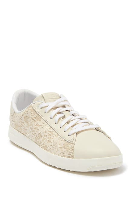 Image of Cole Haan Class Edition Lace Panel Sneaker