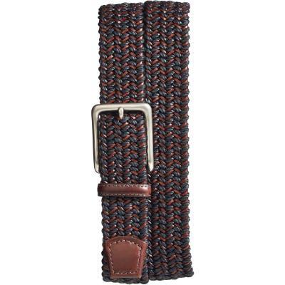 Torino Woven & Leather Belt