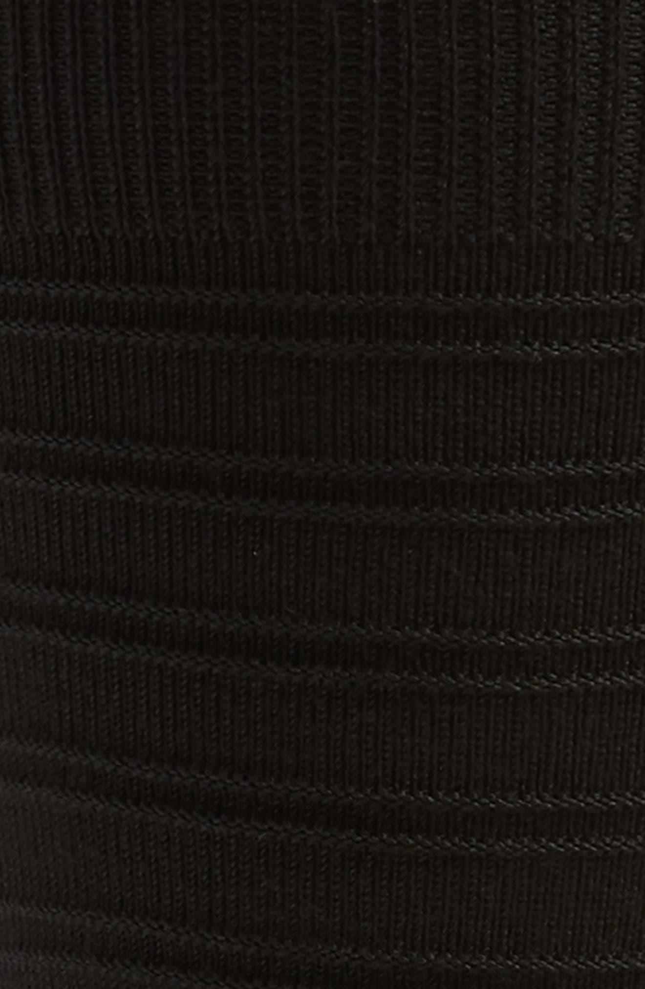 ,                             Ultrasoft Stripe Socks,                             Alternate thumbnail 2, color,                             BLACK
