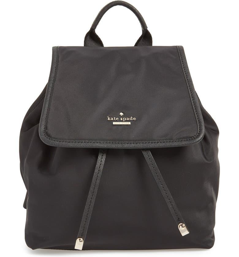 KATE SPADE NEW YORK 'molly' nylon backpack, Main, color, 001