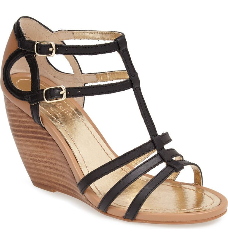 SEYCHELLES 'In Control' Wedge Sandal, Main, color, 001