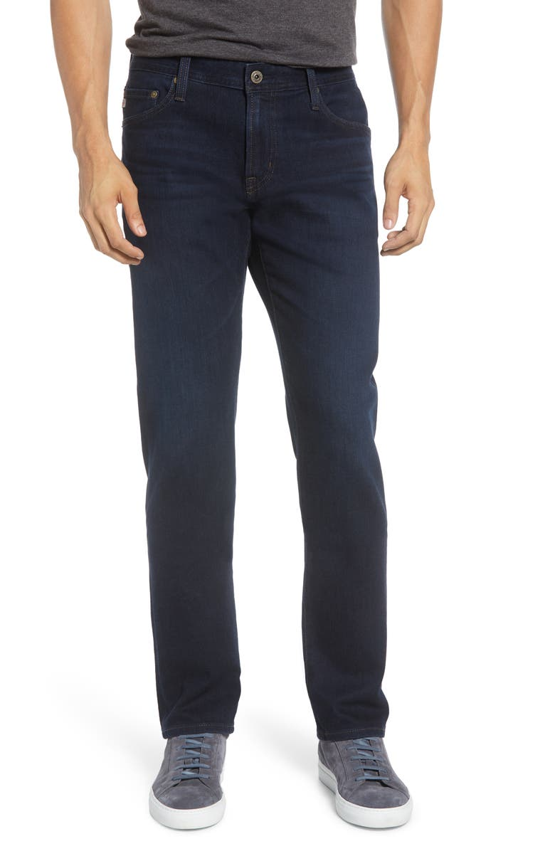 AG Graduate Slim Straight Leg Jeans, Main, color, SCOUT