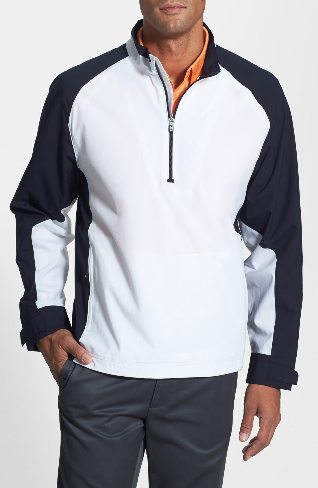 ,                             'Summit' WeatherTec Wind & Water Resistant Half Zip Jacket,                             Main thumbnail 34, color,                             100