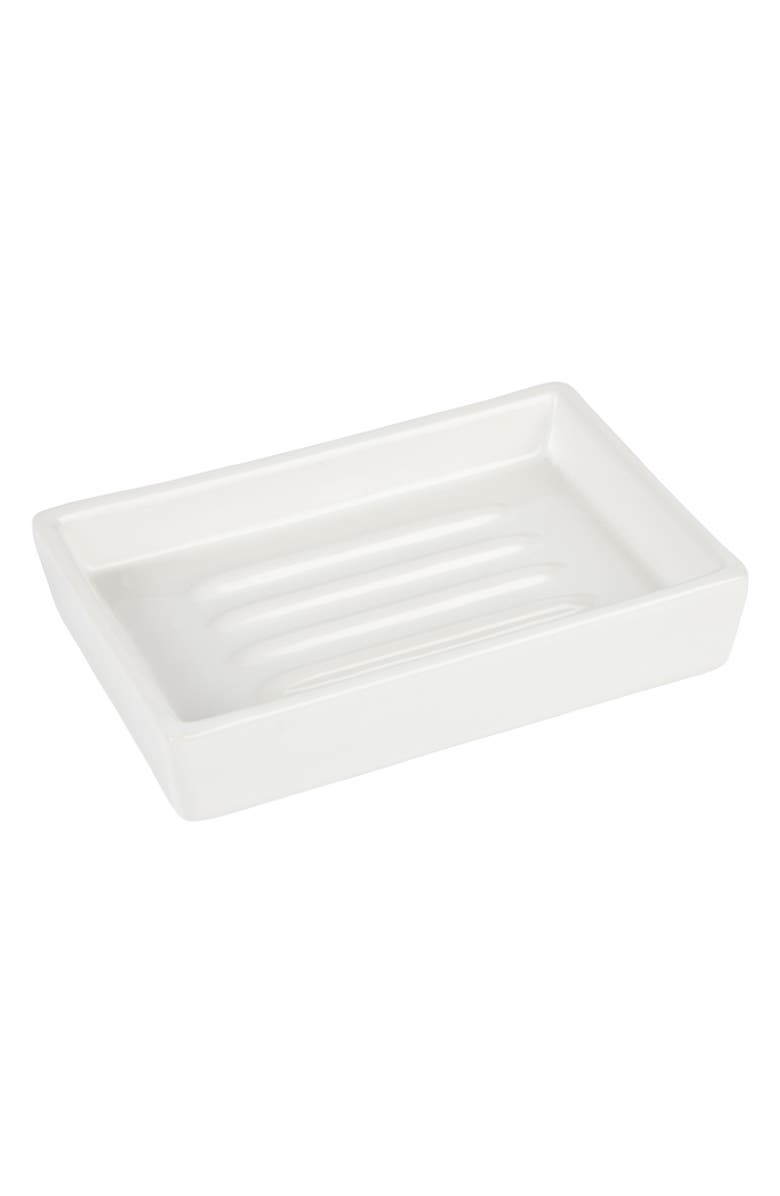 THE WHITE COMPANY Newcombe Soap Dish, Main, color, 100