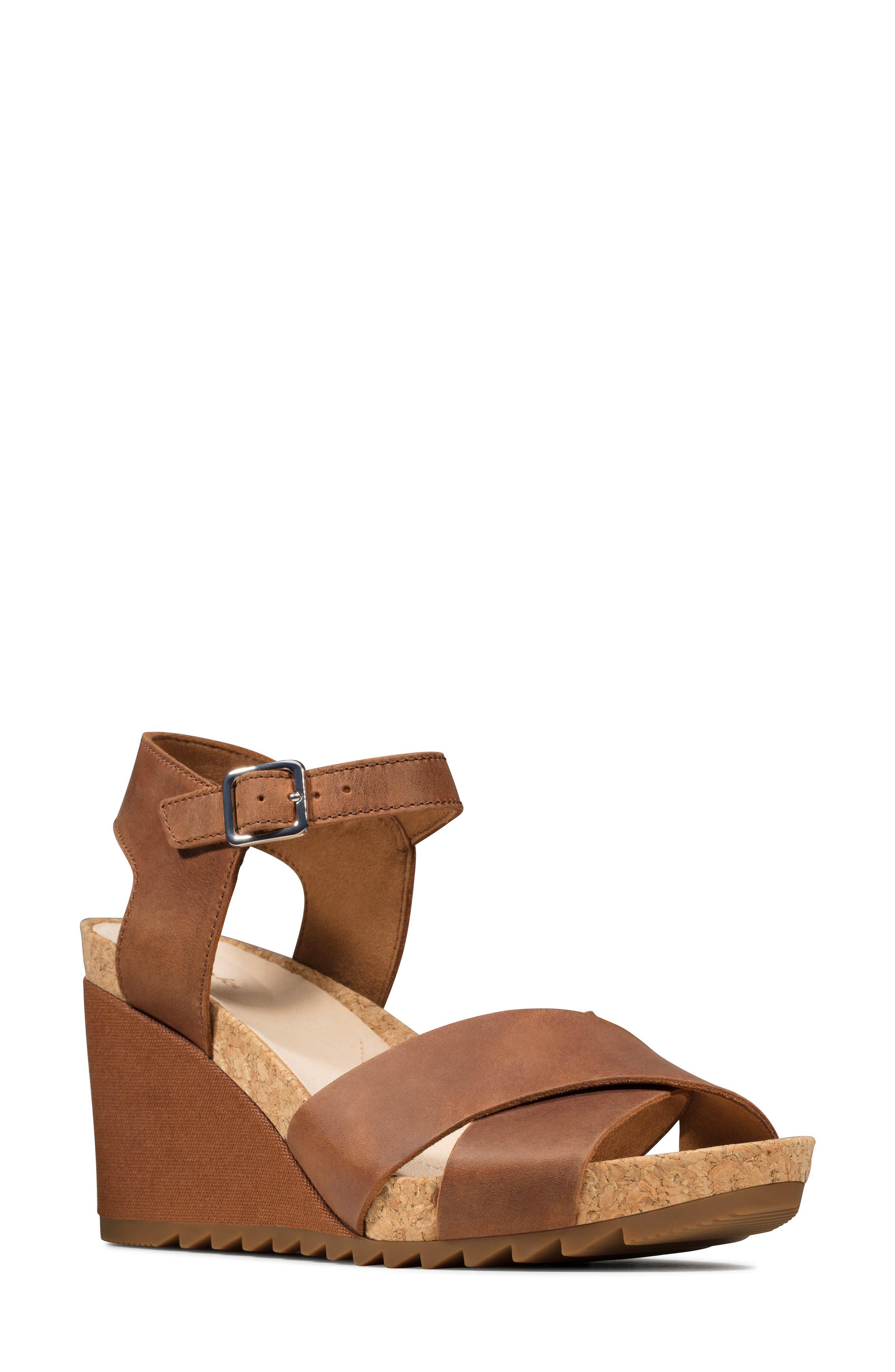 Women's Clarks Flex Sun Wedge Sandal