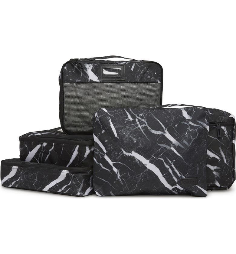 CALPAK 5-Piece Packing Cube Set, Main, color, MIDNIGHT MARBLE