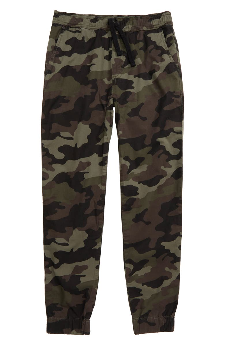TUCKER + TATE I Only Do Weekends Pants, Main, color, GREEN BEETLE CLASSIC CAMO