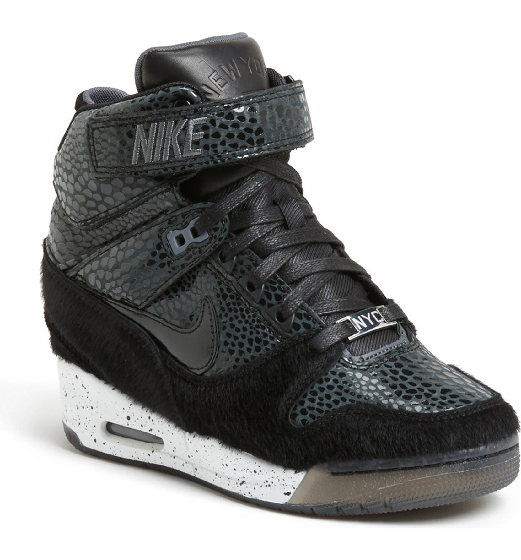 info for 8dc2a ecb07 Nike  Air Revolution Sky Hi  Hidden Wedge Sneaker (Women)   Nordstrom