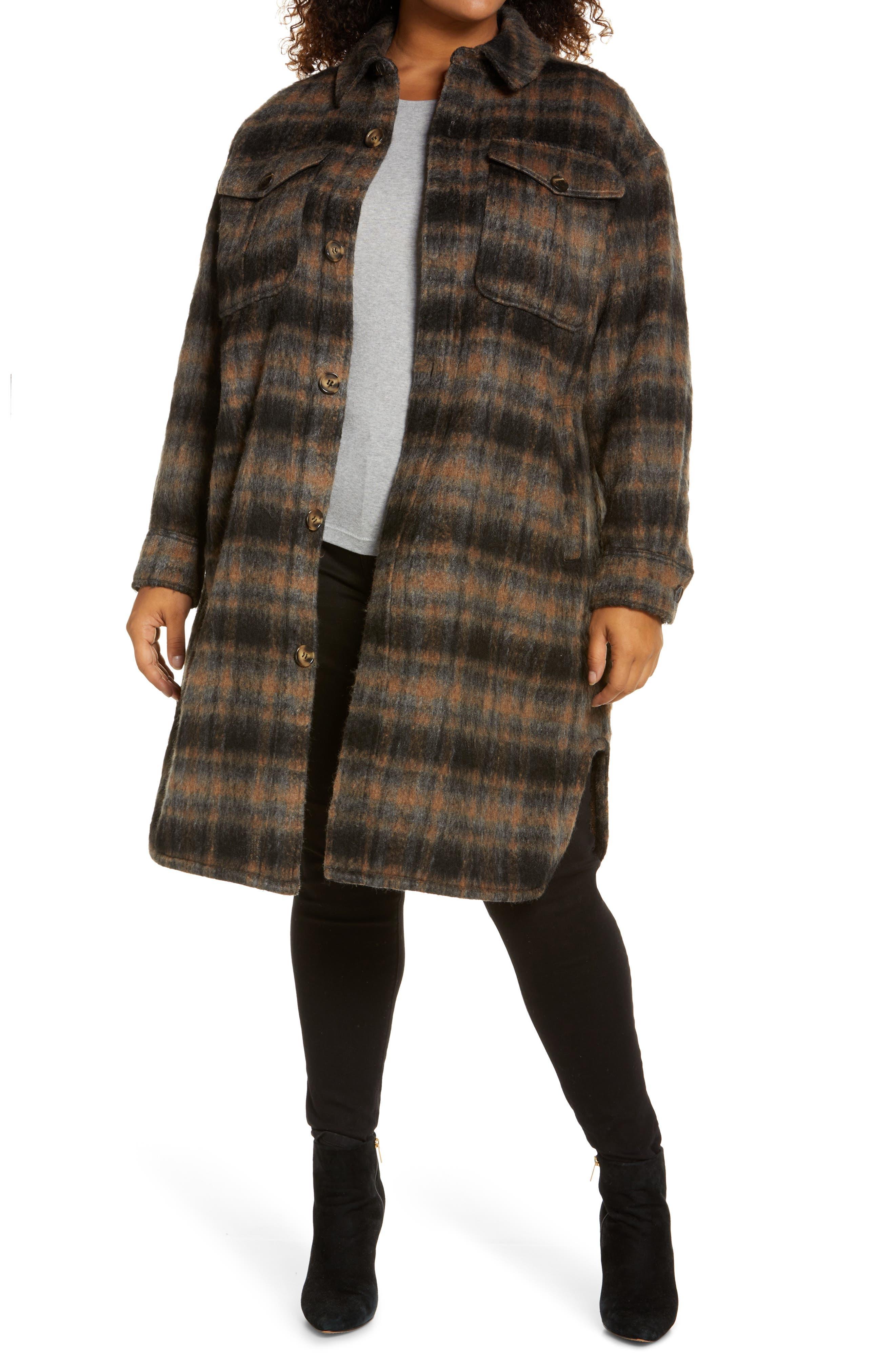 Midi Shirt Jacket