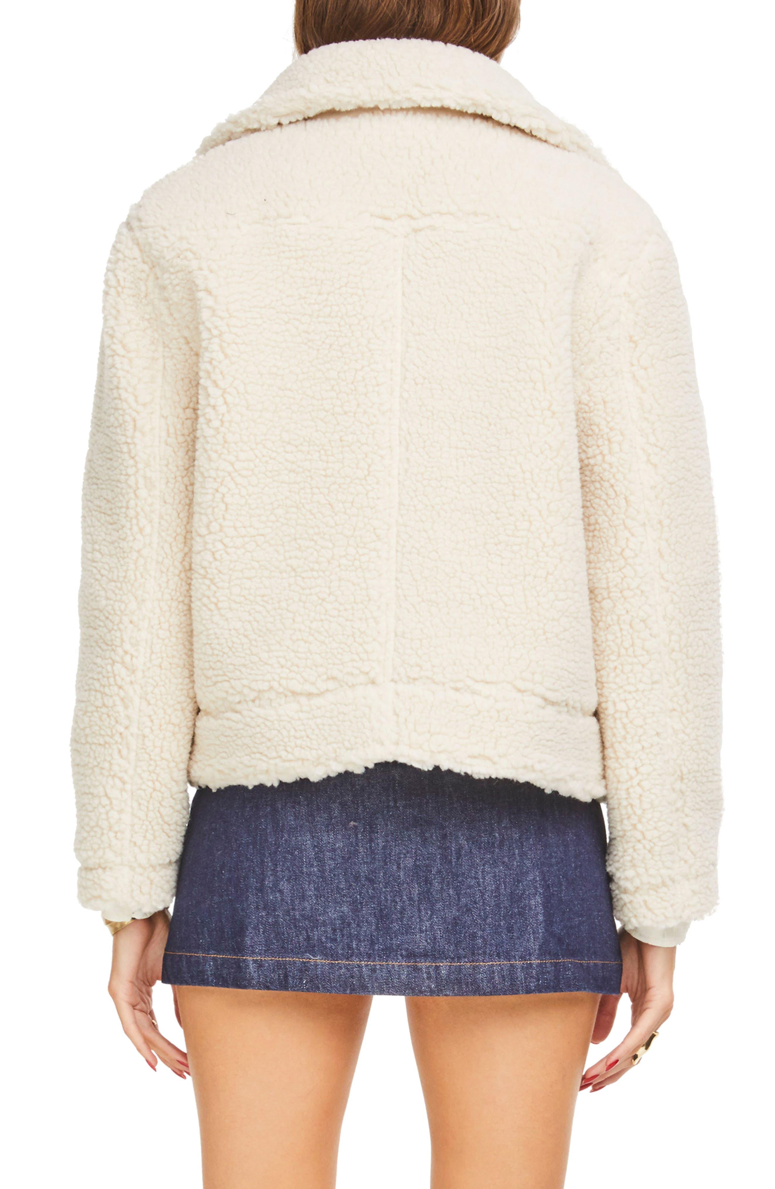 ,                             Brooklyn High Pile Fleece Jacket,                             Alternate thumbnail 6, color,                             900