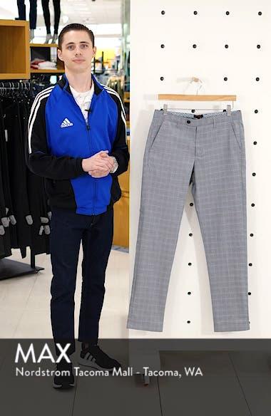 Snoopd Slim Fit Check Golf Pants, sales video thumbnail