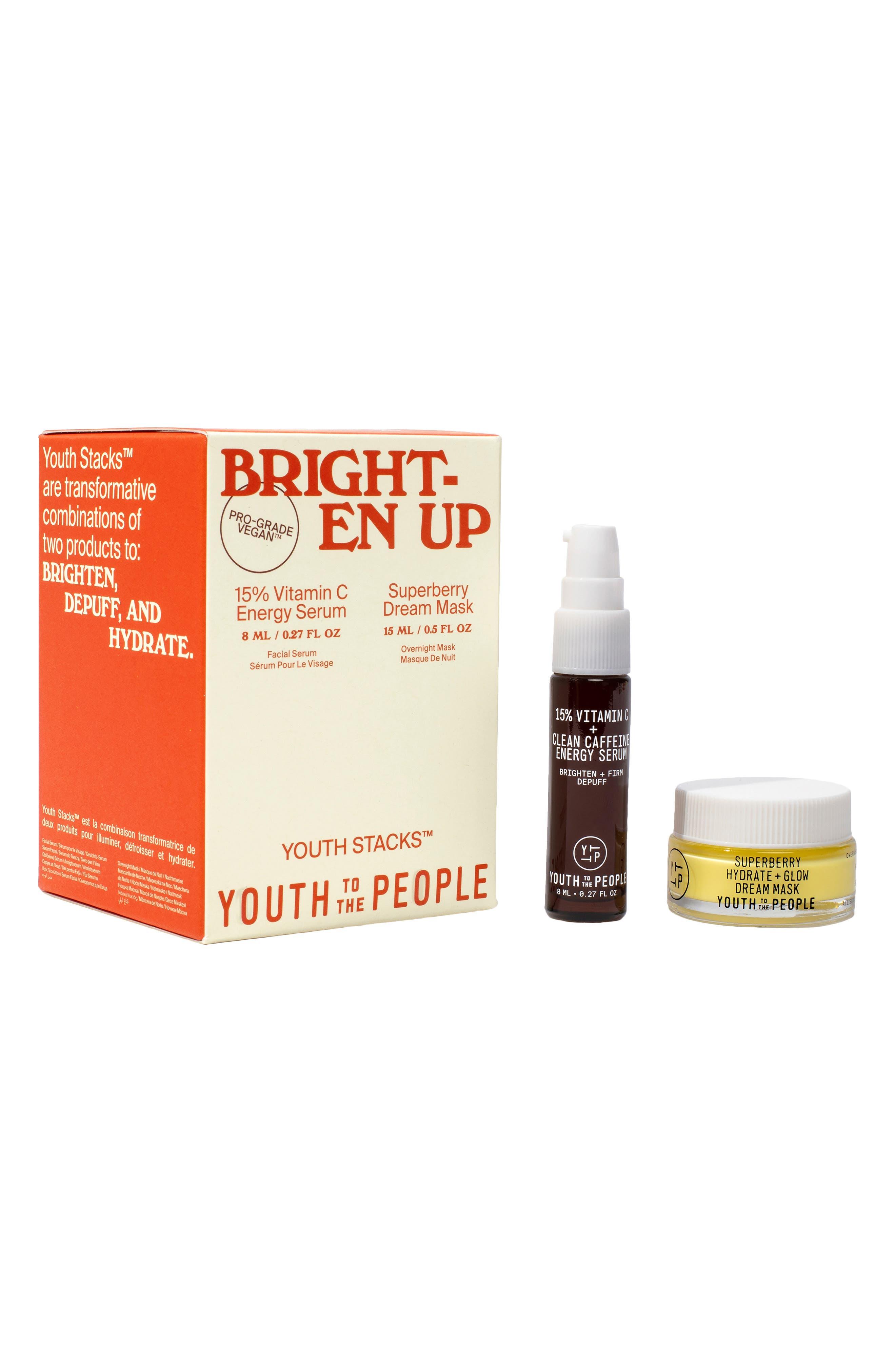 Brighten Up Serum & Face Mask Set | Nordstrom