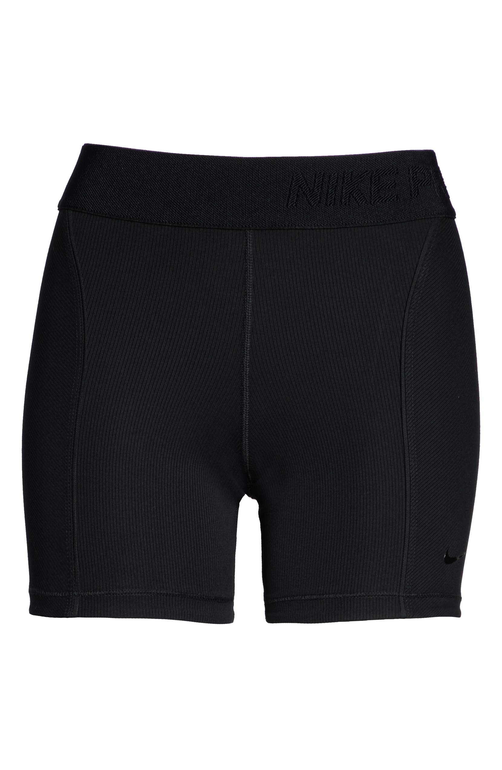 9917c4a5d86d9 Nike Pro HyperCool Women's Ribbed Shorts | Nordstrom