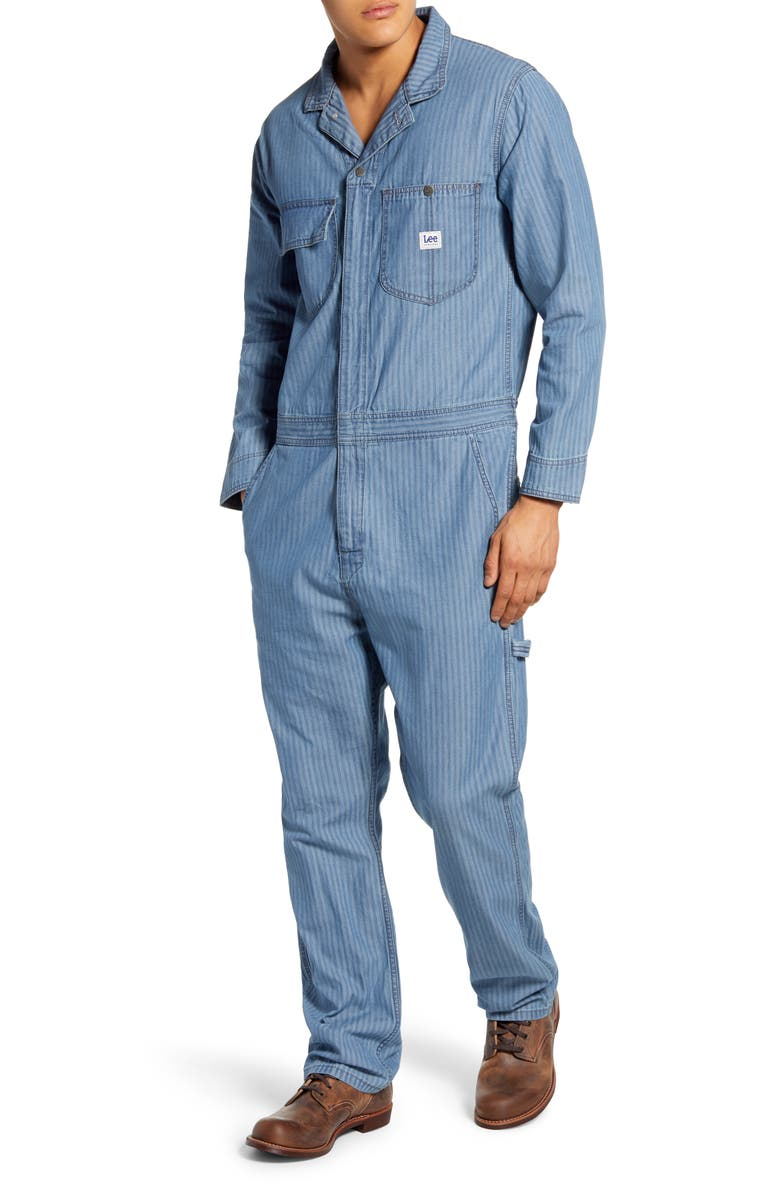 LEE Union-All Slim Fit Coveralls, Main, color, 400