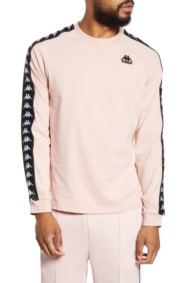 KAPPA Active 222 Banda Auyen Long Sleeve T-Shirt, Main, color, PINK-BLACK