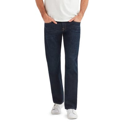 7 For All Mankind The Straight Series 7 Slim Straight Leg Jeans, Blue