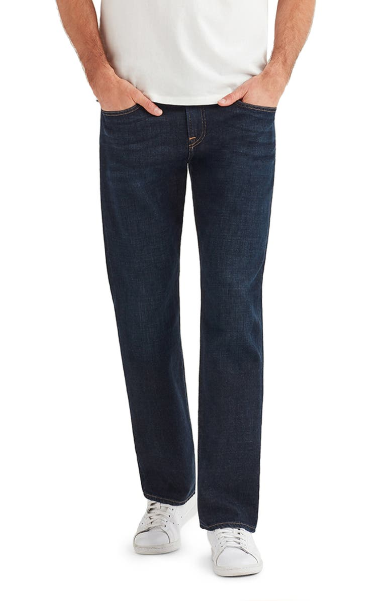 7 FOR ALL MANKIND<SUP>®</SUP> The Straight Slim Straight Leg Jeans, Main, color, DIPLOMAT
