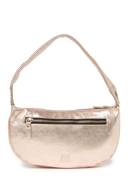 Image of TMRW STUDIO Logan Metallic Shoulder Bag