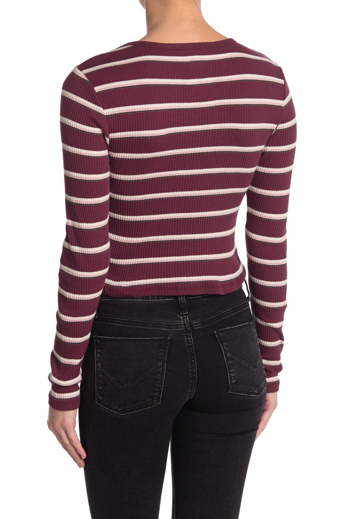 Image of Dickies Stripe Rib Knit Top