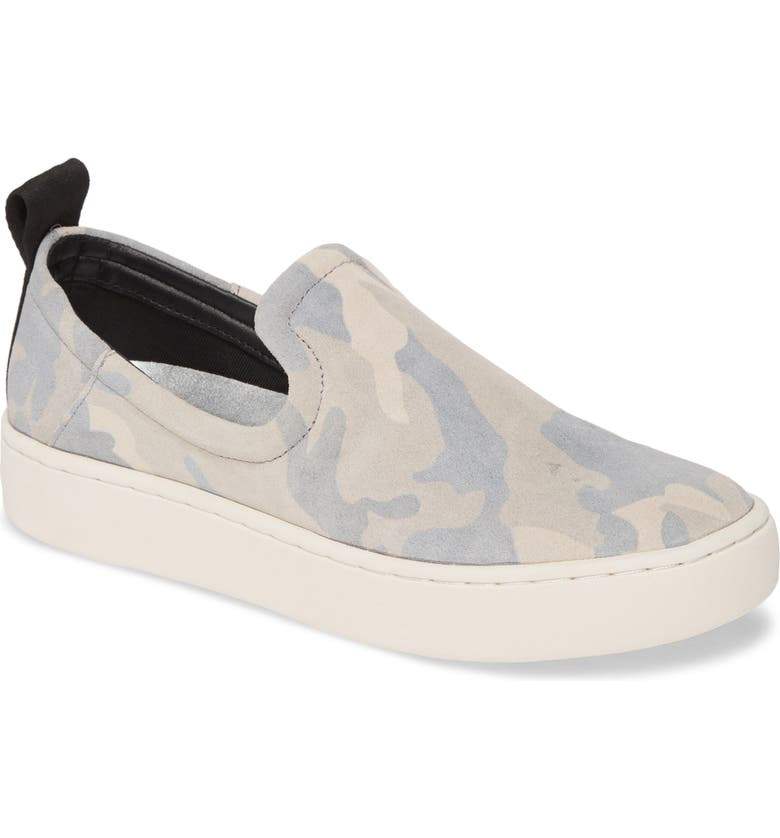 DOLCE VITA Tag Slip-On Sneaker, Main, color, CAMO SUEDE