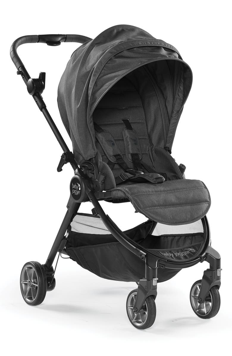 BABY JOGGER City Tour<sup>™</sup> LUX 2018 Folding Stroller, Main, color, GRANITE