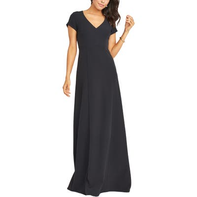 Show Me Your Mumu Geneva Gown, Black