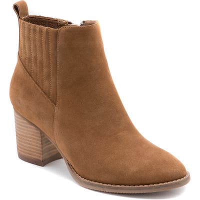 Blondo Noa Waterproof Bootie- Brown