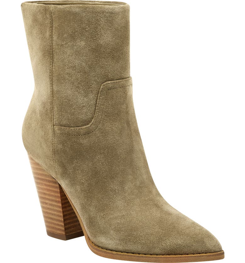 MARC FISHER LTD Devin Pointy Toe Bootie, Main, color, 261