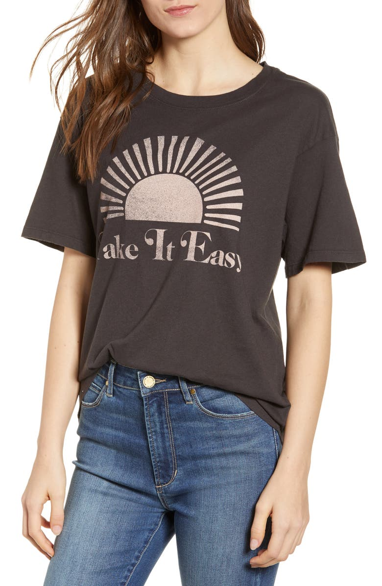 b67007c7 Day by Daydreamer Take It Easy Graphic Tee   Nordstrom