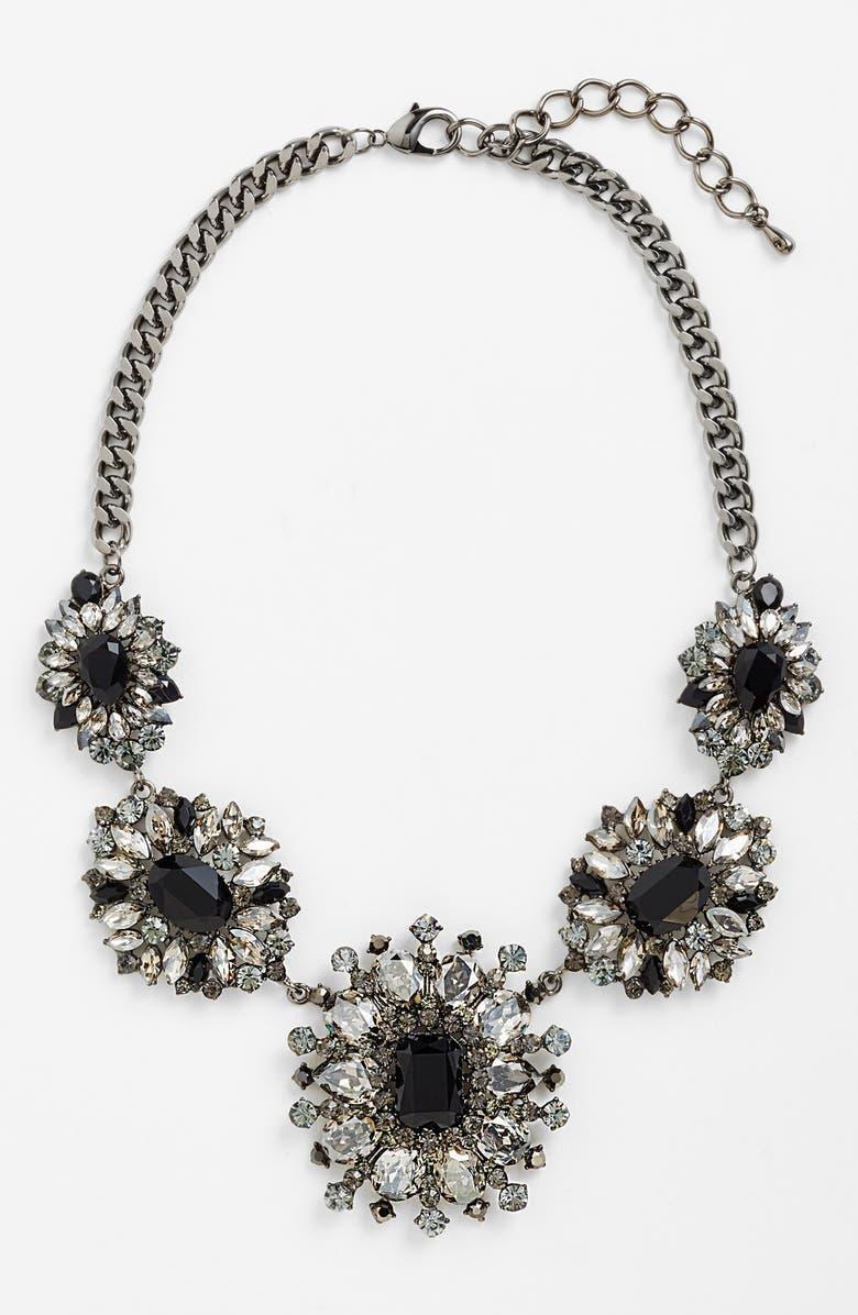 TASHA Crystal Statement Necklace, Main, color, 020
