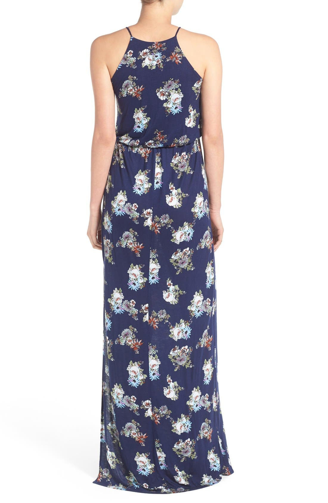 ,                             High Neck Maxi Dress,                             Alternate thumbnail 111, color,                             471