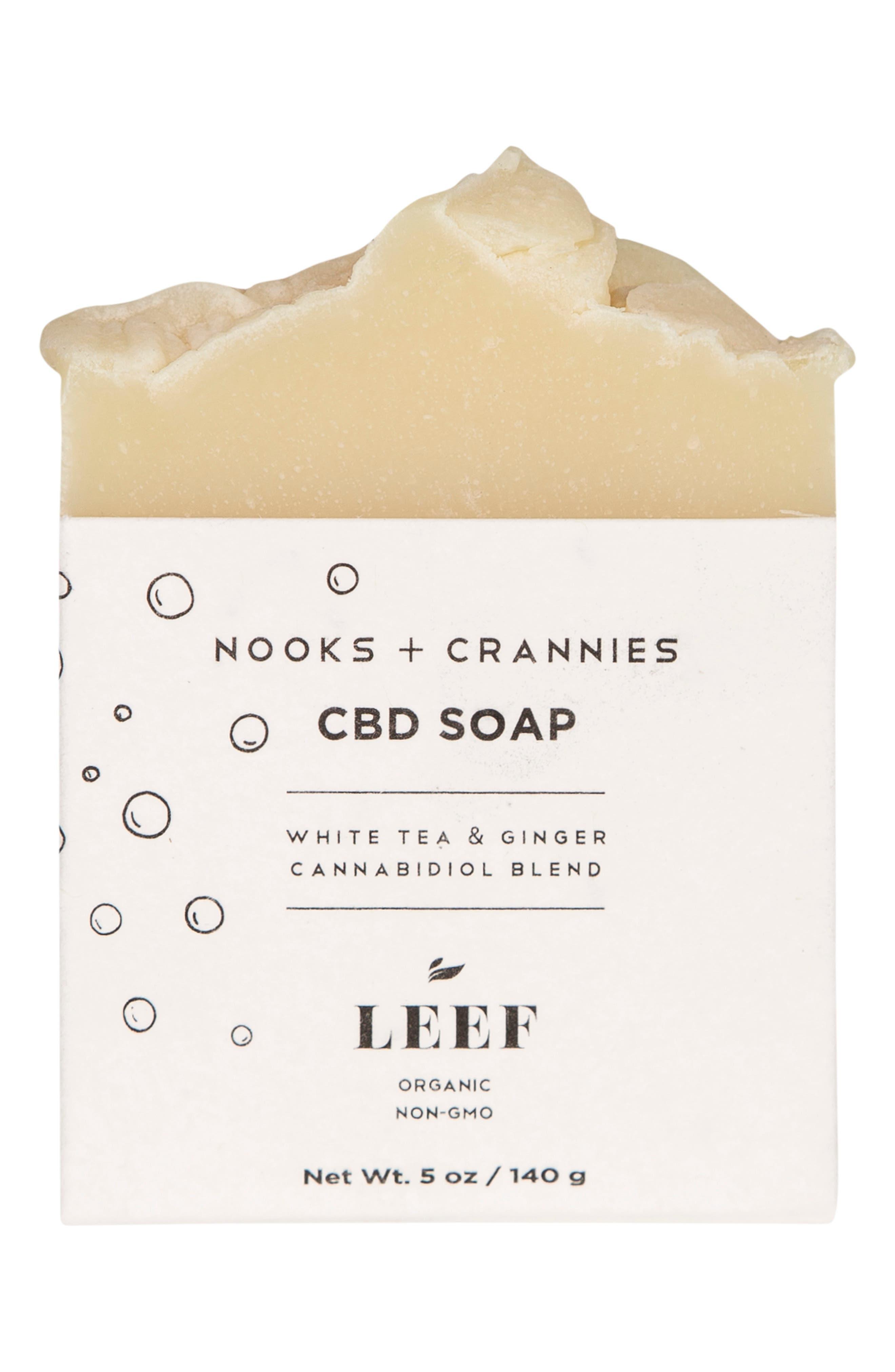 Nooks + Crannies Cbd Soap
